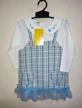 Dress import anak