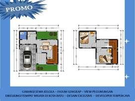 Rumah Villa Dijual Di Batu Malang Tipe 45 Garansi Sewa Kelola