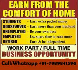 Full Time / Part Time JOBs (REAL INCOME INTO UR POCKETS)