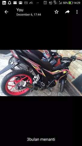 Honda sonic 150cc, 2016.