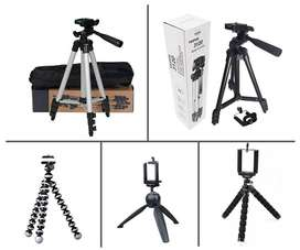Tripod Selfie Stand and USB Memory card and OTG USB and OTG Connectors