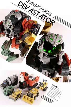 Robot Transformers ROTF Decepticon Devastator - Supreme Class - Hasbro