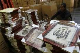 Handycraft Kaligrafi Kulit Kambing Siap Kirim Ke Kupang Lombok