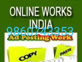 Call us for Offline E-Book Typing Work At Home Data Entry Job