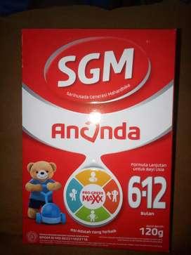 Dijual susu SGM ananda 6 sd 12 - 120g