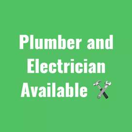 plumber and electrician available