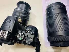 Nikon d3500 kit (Nikkor 18-55mm& Nikkor 70-300mm) dslr camera