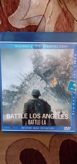 "DVD Blue ray. ""Batle los angeles"""