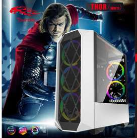 RGB Gaming Case THOR Fully Tempered Glass