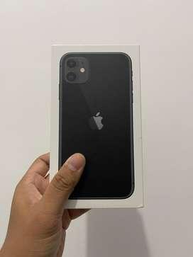 IPHONE 11 64GB BLACK FULLSET