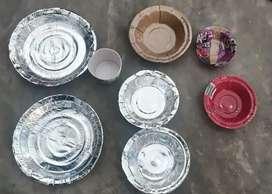 Disposable bowl's