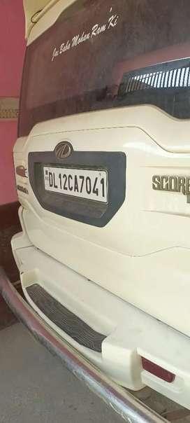 Mahindra Scorpio 2015 Diesel 38231 Km Driven price 8.10 lakh DL number