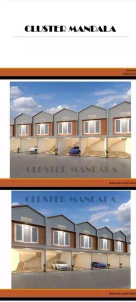 Rumah dijual Murah&baru cluster elegant dijohar baru jakarta pusat