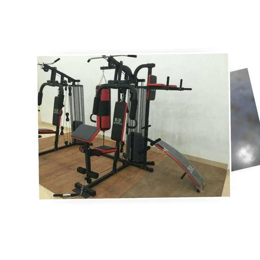 Home Gym 3 Sisi Merk Idachi 0