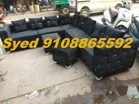 High design new l shape corner sofa set 3 year warranty Cal VC 22
