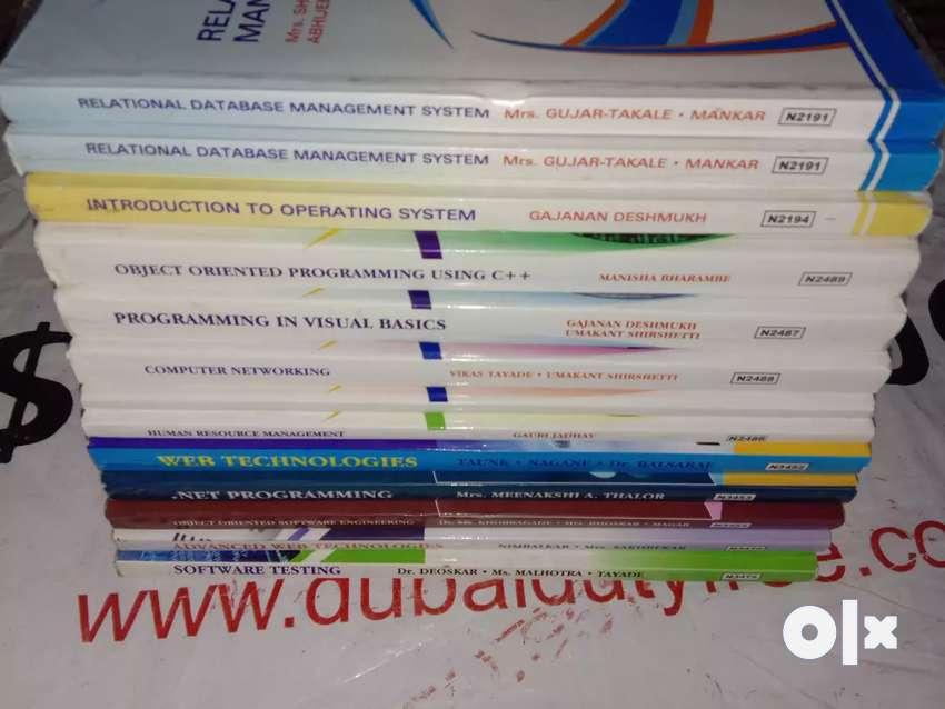 Pune University BBA(CA) Textbooks.[CAN BARGAIN] 0