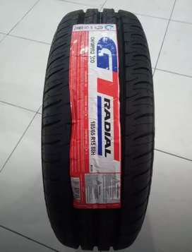 Ban baru GT Radial ukuran 185/65 R15 Champiro Eco Mobilio Ertiga .,