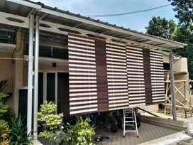 Tirai kayu krey kayu pvc 31