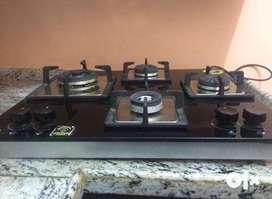 Elica kitchen hob 4 burner