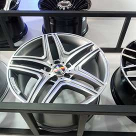 Velg Mobil Mercy r18 HSR cocok juga untuk Innova bisa dicicil