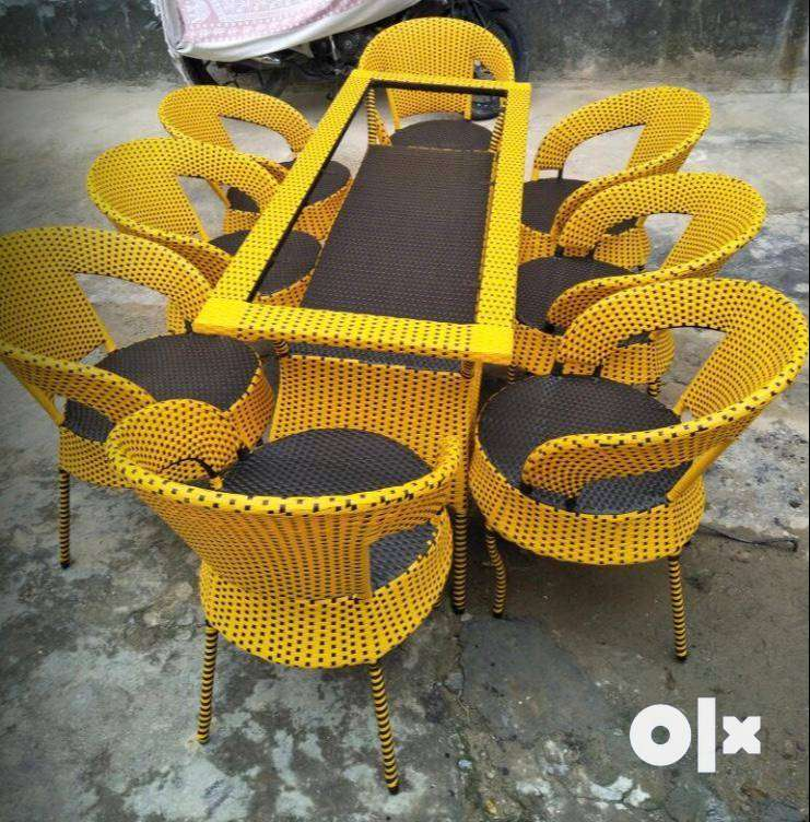 Garden Table Chair Set 0