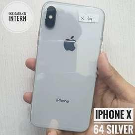 iPhone X 64 Silver, Intern