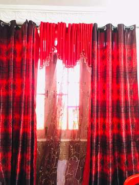 Beautiful stylish curtains