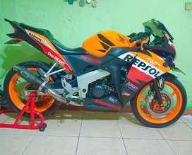 CBR Repsol 150 CBU Thailan 2013 Mulus