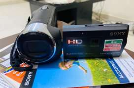 Sony hanycam built in projector