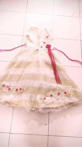 Teenage girl gown