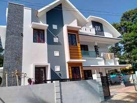 Thrissur, vellanikkara, 2200 sq.ft, 4BHK stylish villa in 5.500 cent