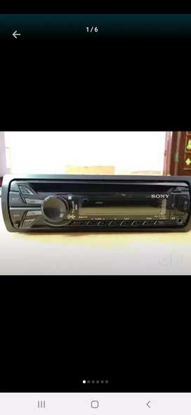 Sony original car stereo
