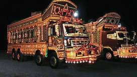 PKD 411  truck asaan qistun py 0% profit New year offer