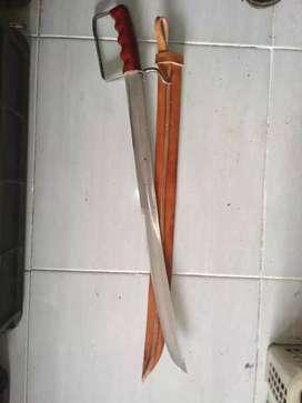 Pedang sarung Palembang panjang 60 cm
