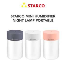 STARCO Mini Humidifier Lampu Tidur LED Car Humidifier Putih Original
