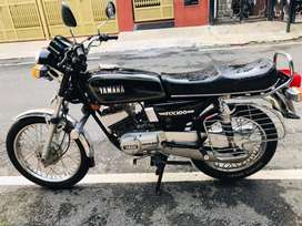Yamaha rx 100 with new fc and insurance