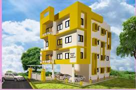 1 BHK flat for sale at Motilal Gupta Road