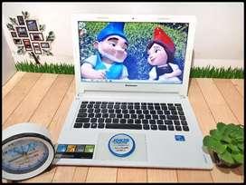 Laptop Lenovo Ideapad S300 Putih Ungu Slim