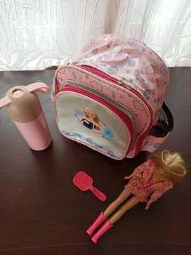 Tas backpack barbie ori