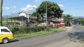dijual Rumah tanah Vila Kaffe di jalan Raya Garut Bayongbong