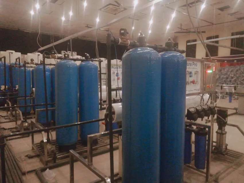 Mineral Water Plant. Water Filter Plant 0