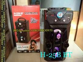 Speaker karaoke suara super mantap advance H25B BT