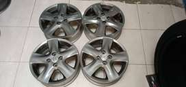 jual velg second std vios ring 15 hole4x100