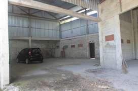 Disewakan Gudang luas untuk Depo Logistik / Bahan bangunan