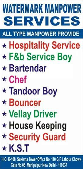 Hotel job requirement same day joining salary+p.f+esic