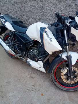 I am selling .good condition white Apache 180