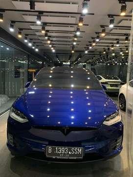 Tesla Model X Performance Blue on Black