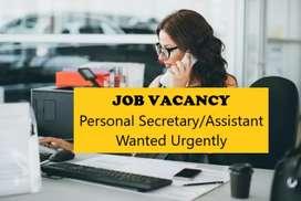 Wanted secretary (female)