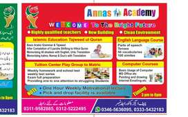 Required male and female teacher for An. Nass academy