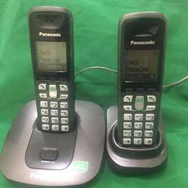 Cordless Phone With Intercom Facility By Panasonic